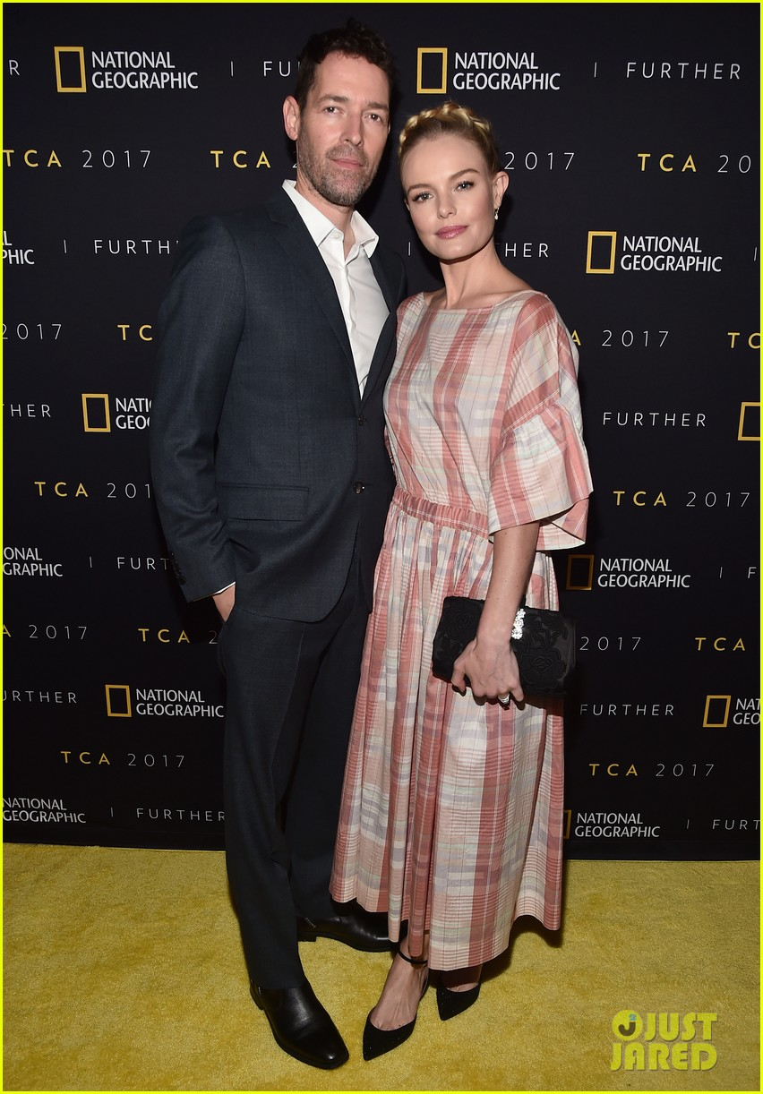kate boswroth favorite partner in crime michael polish couple up at national geographic 023933613
