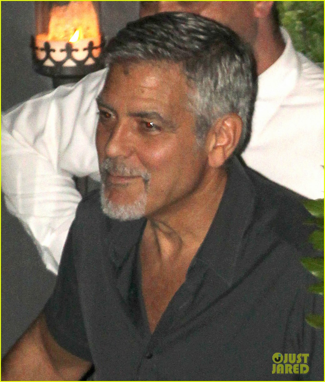 new parents george amal clooney dine with friends in italy 043926367