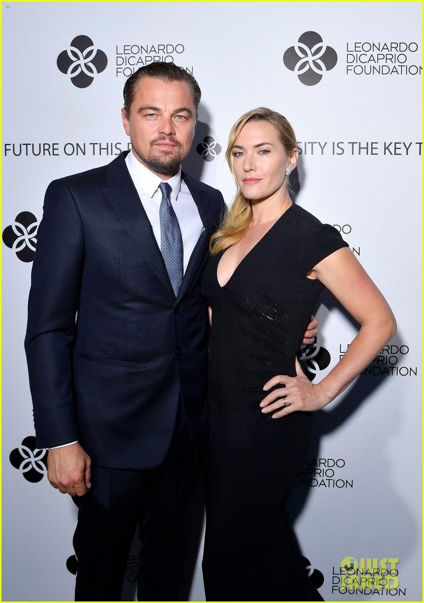 leo is supported by kate madonna at foundation gala 013934206