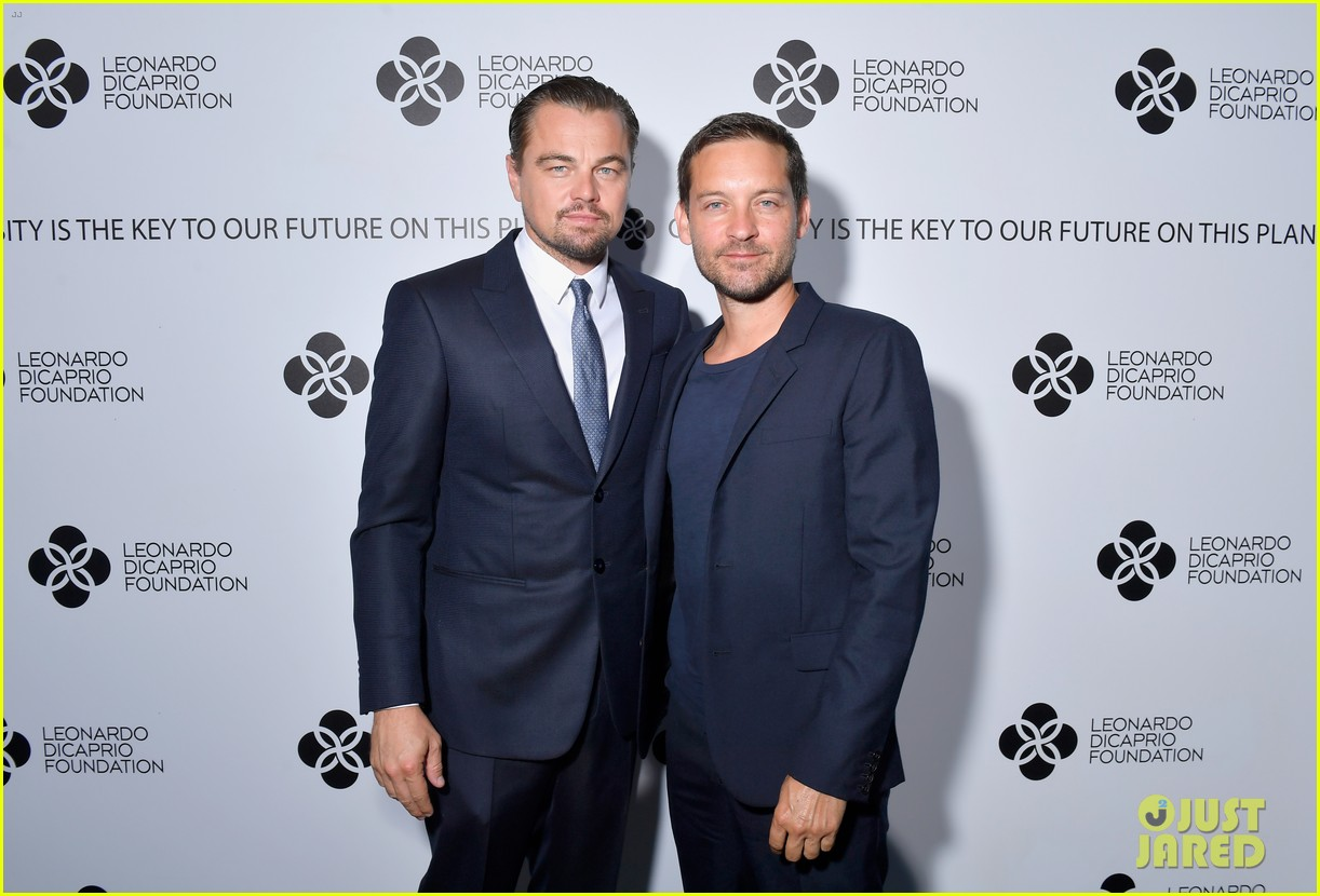 leo is supported by kate madonna at foundation gala 033934208