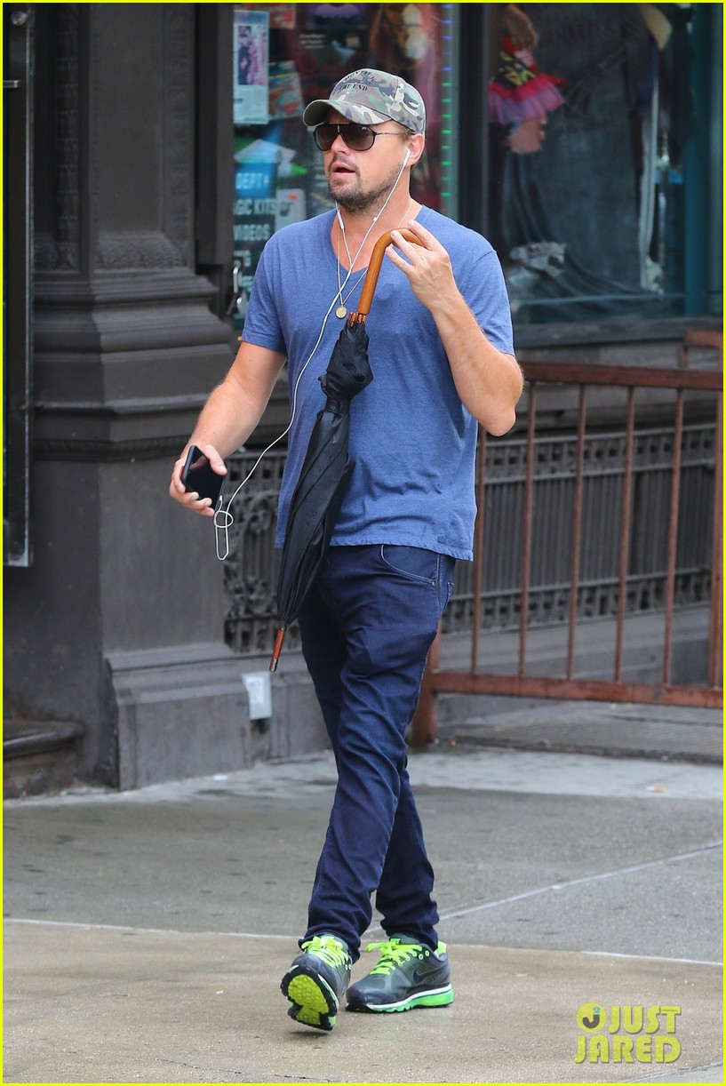 leonardo dicaprio steps out after announcing new movie with martin scorsese 023928260