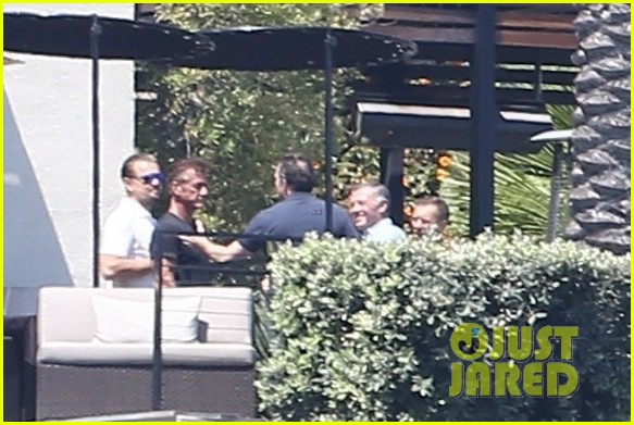 leonardo dicaprio hangs out shirtless with orlando bloom tobey maguire and more 063924050