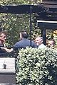 leonardo dicaprio hangs out shirtless with orlando bloom tobey maguire and more 06