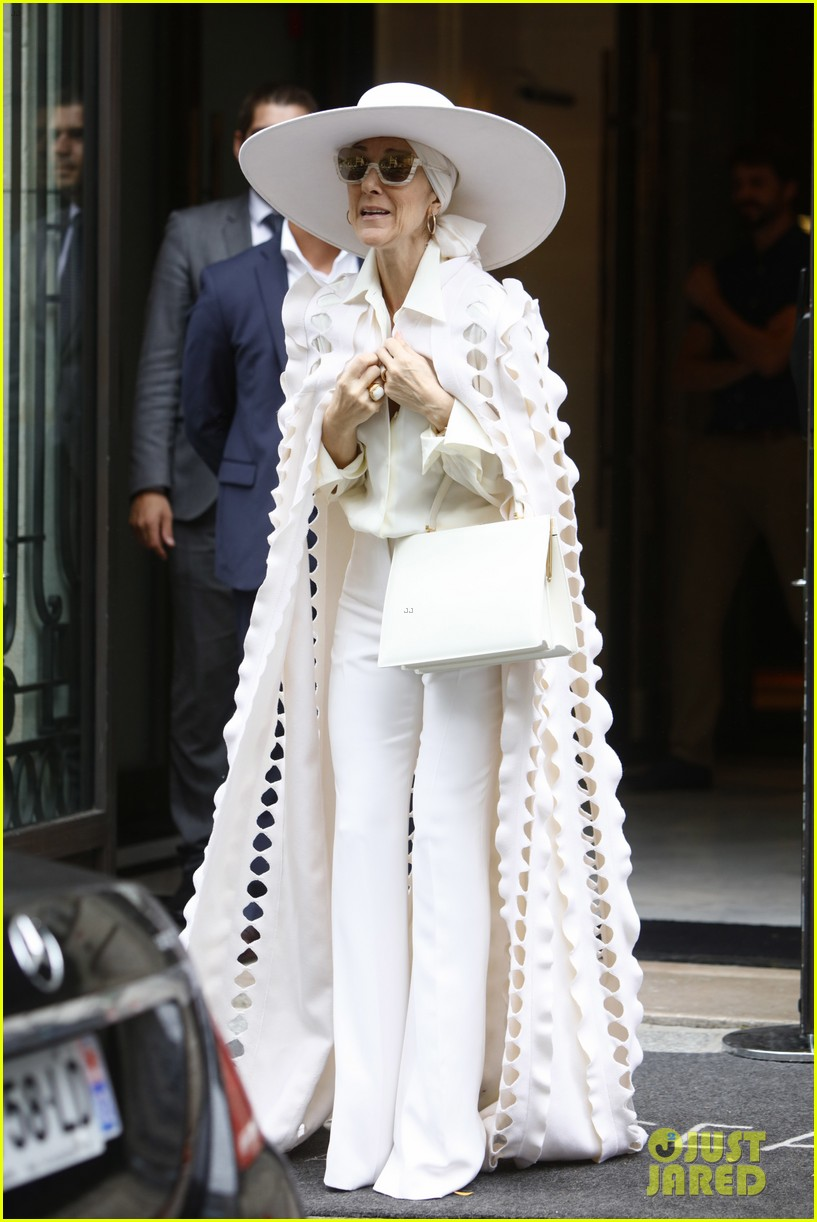 Celine Dion Looks so Fierce in Her All-White Outfit!: Photo 3927520 ...