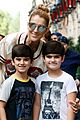 celine dion her twin boys pose for cute photos in paris 04
