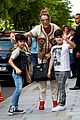 celine dion her twin boys pose for cute photos in paris 18