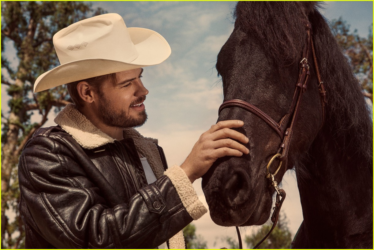 Trevor Donovan Is A Sexy Cowboy For Hot New Photo Shoot