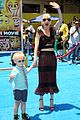 anna faris brings son jack to emoji movie premiere 11