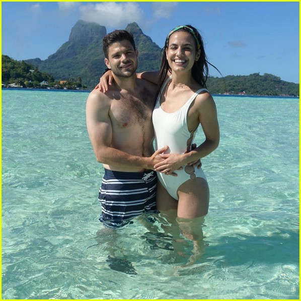 Jerry Ferrara Wife Breanne Racano Share Honemoon Photos