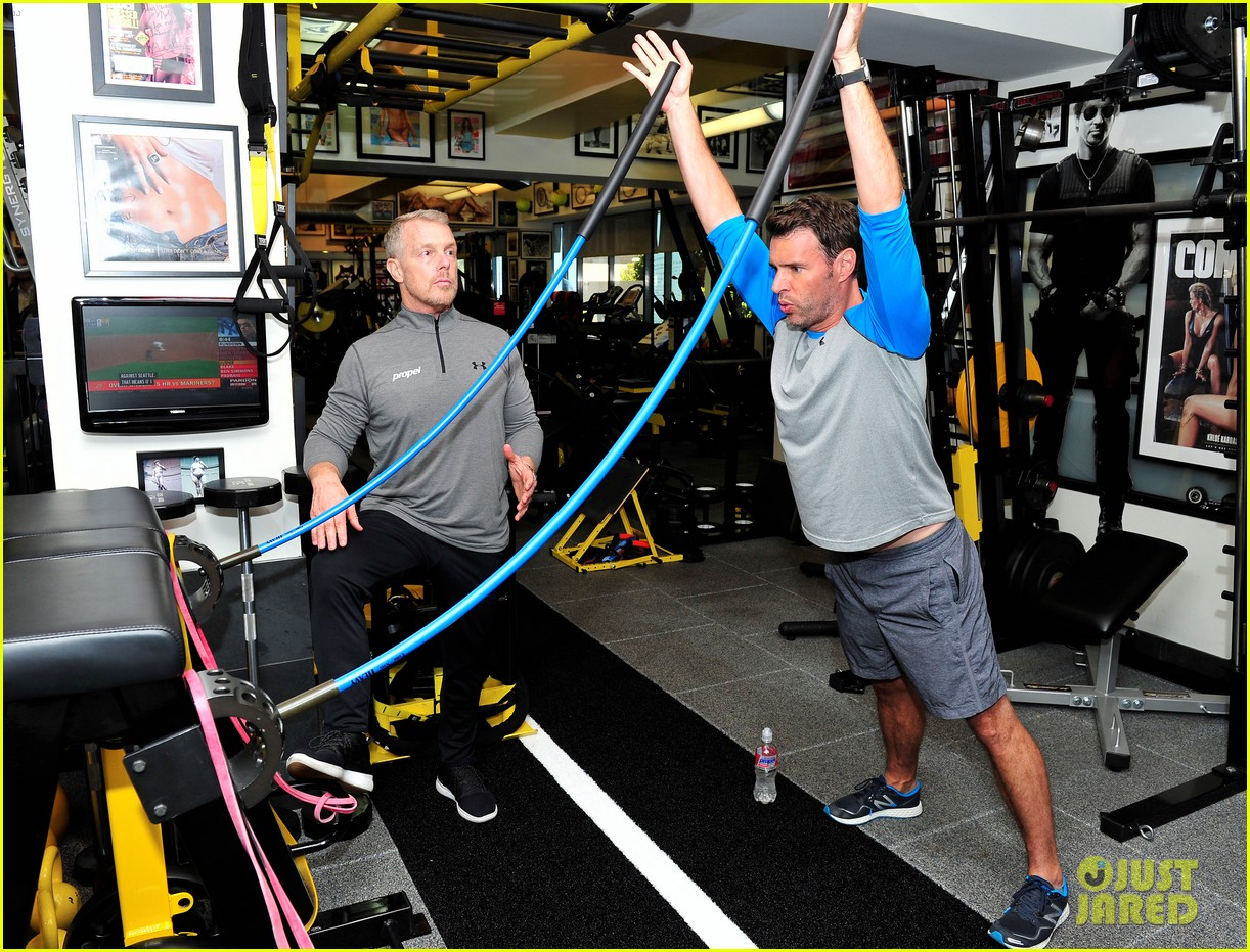 scott foley takes us into his workout with gunnar peterson 013933868