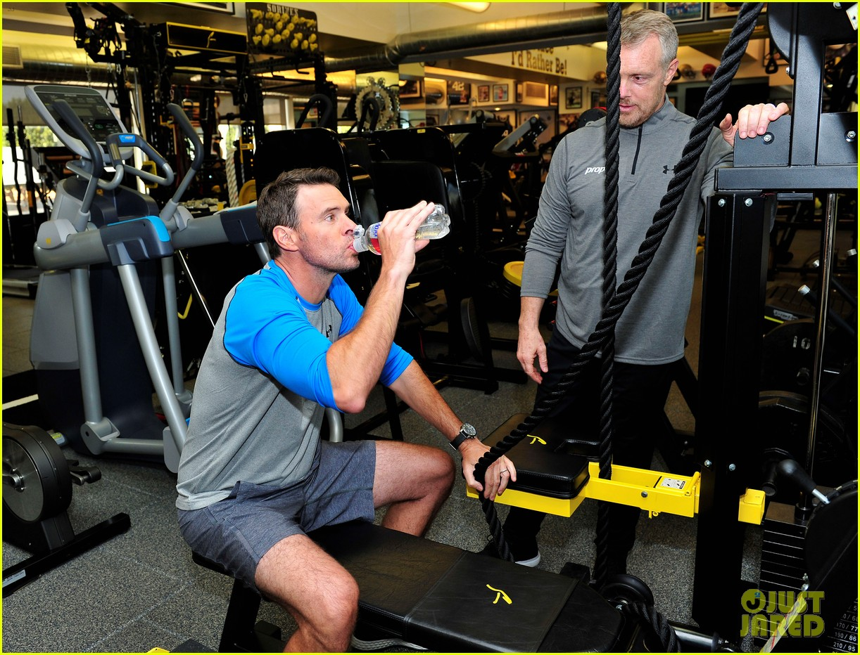 scott foley takes us into his workout with gunnar peterson 023933869