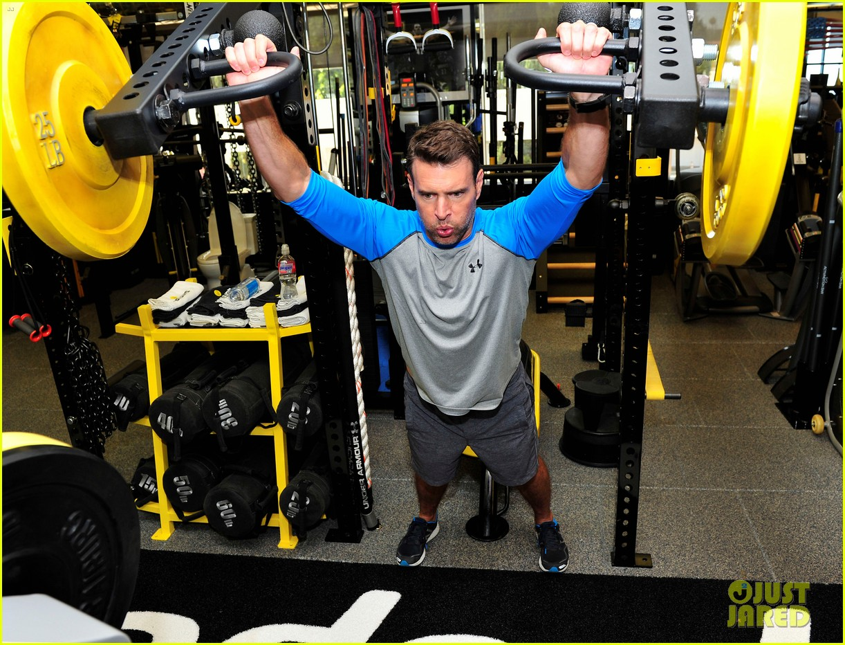 scott foley takes us into his workout with gunnar peterson 053933872