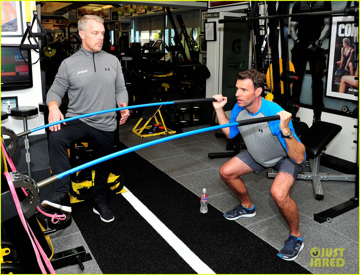 scott foley takes us into his workout with gunnar peterson 063933873