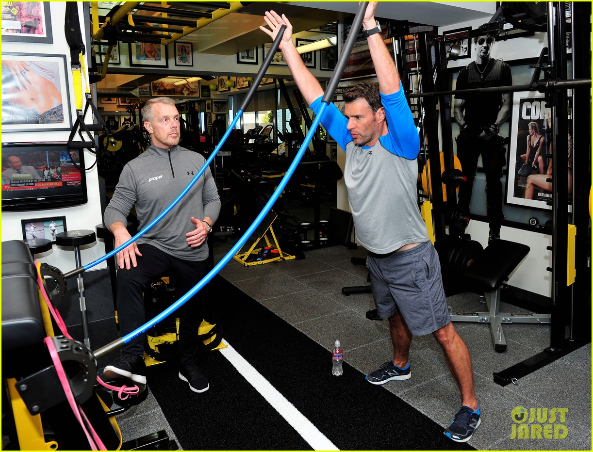 scott foley takes us into his workout with gunnar peterson 073933874