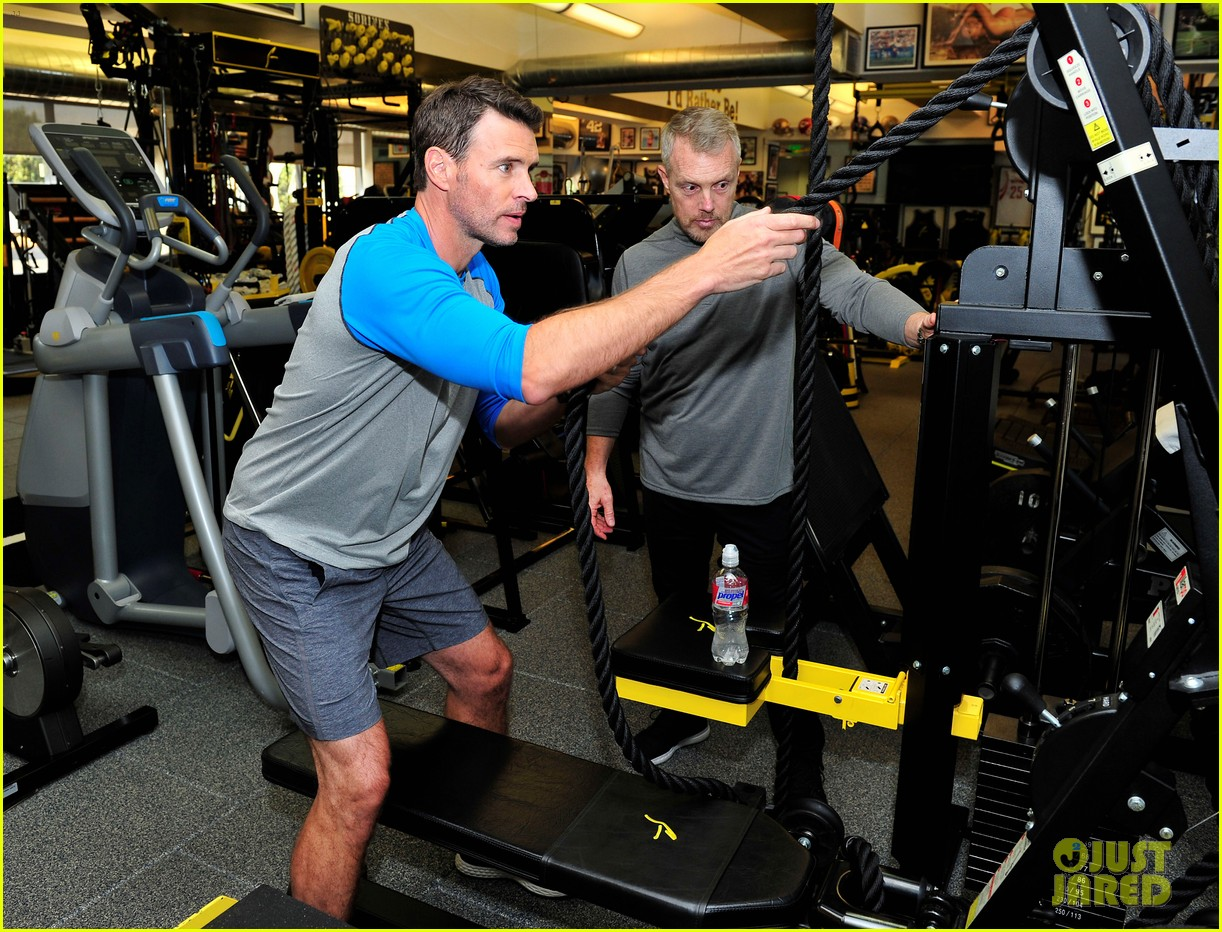 scott foley takes us into his workout with gunnar peterson 093933876