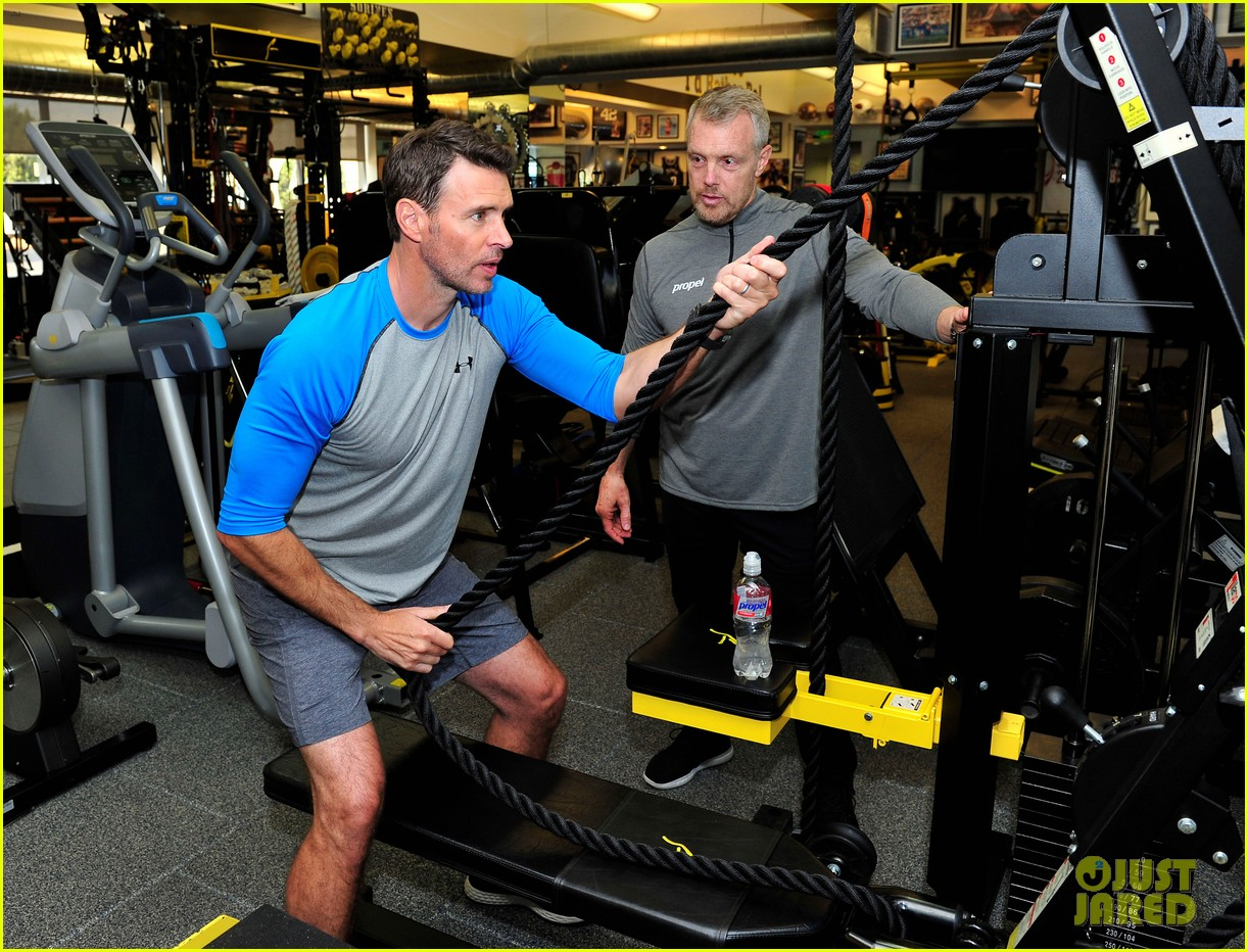 scott foley takes us into his workout with gunnar peterson 103933877