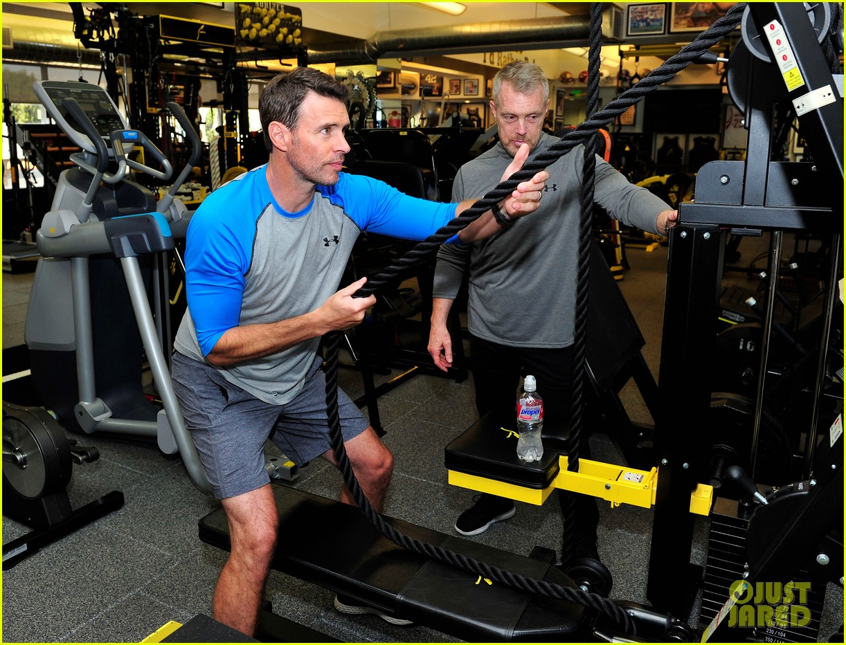 scott foley takes us into his workout with gunnar peterson 113933878