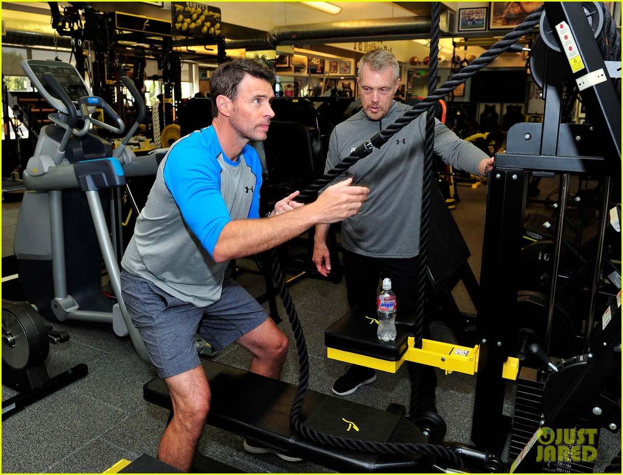 scott foley takes us into his workout with gunnar peterson 123933879