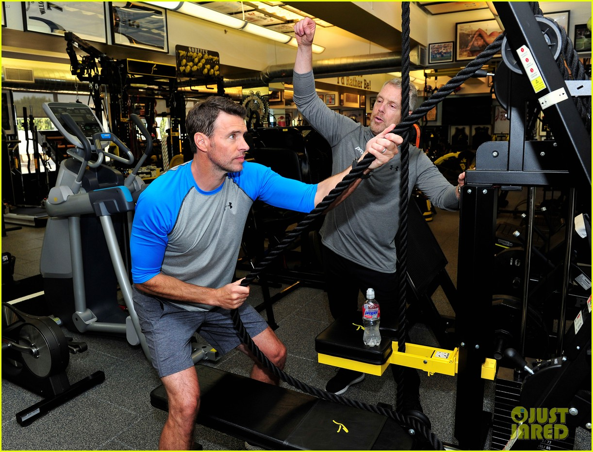 scott foley takes us into his workout with gunnar peterson 143933881