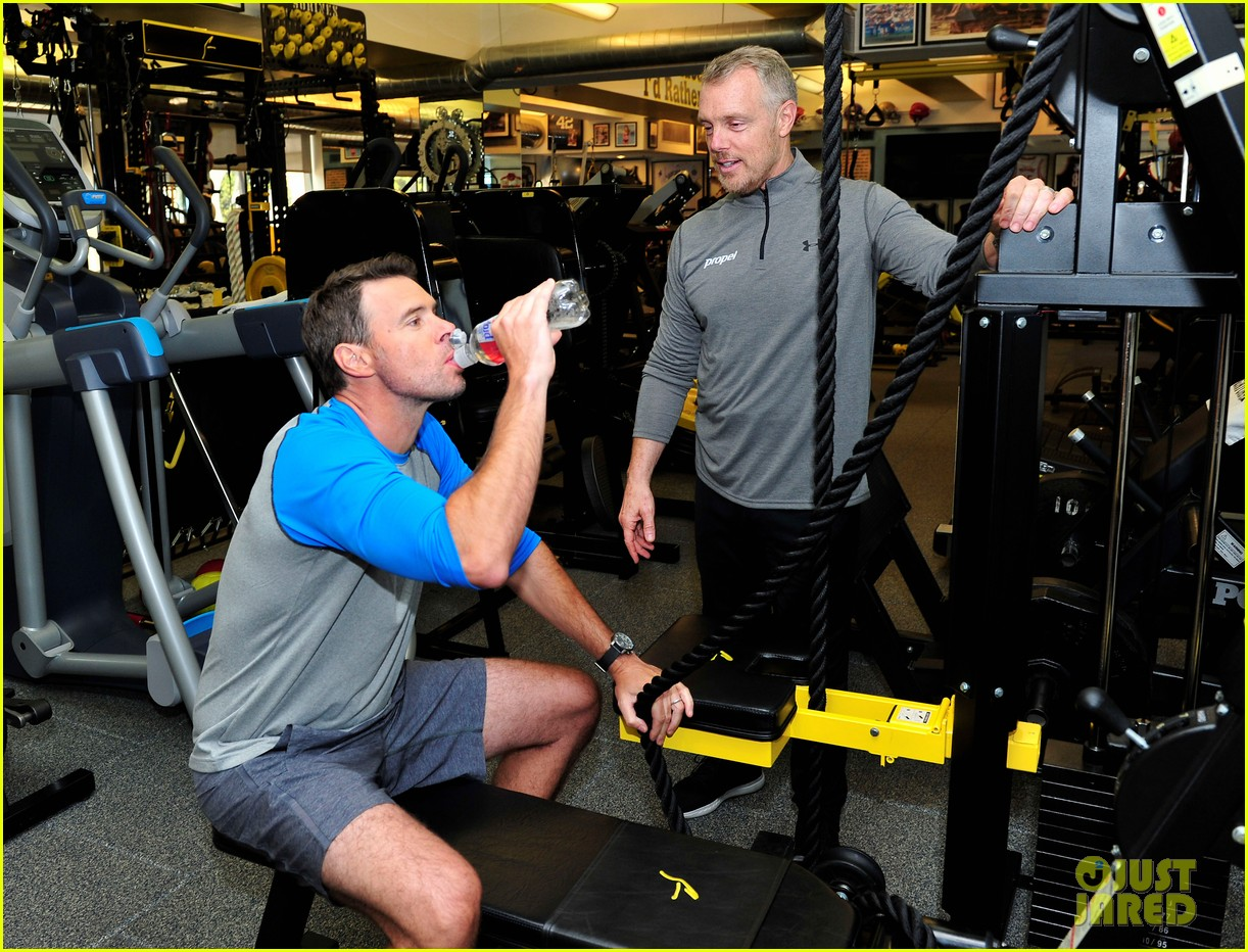 scott foley takes us into his workout with gunnar peterson 173933884