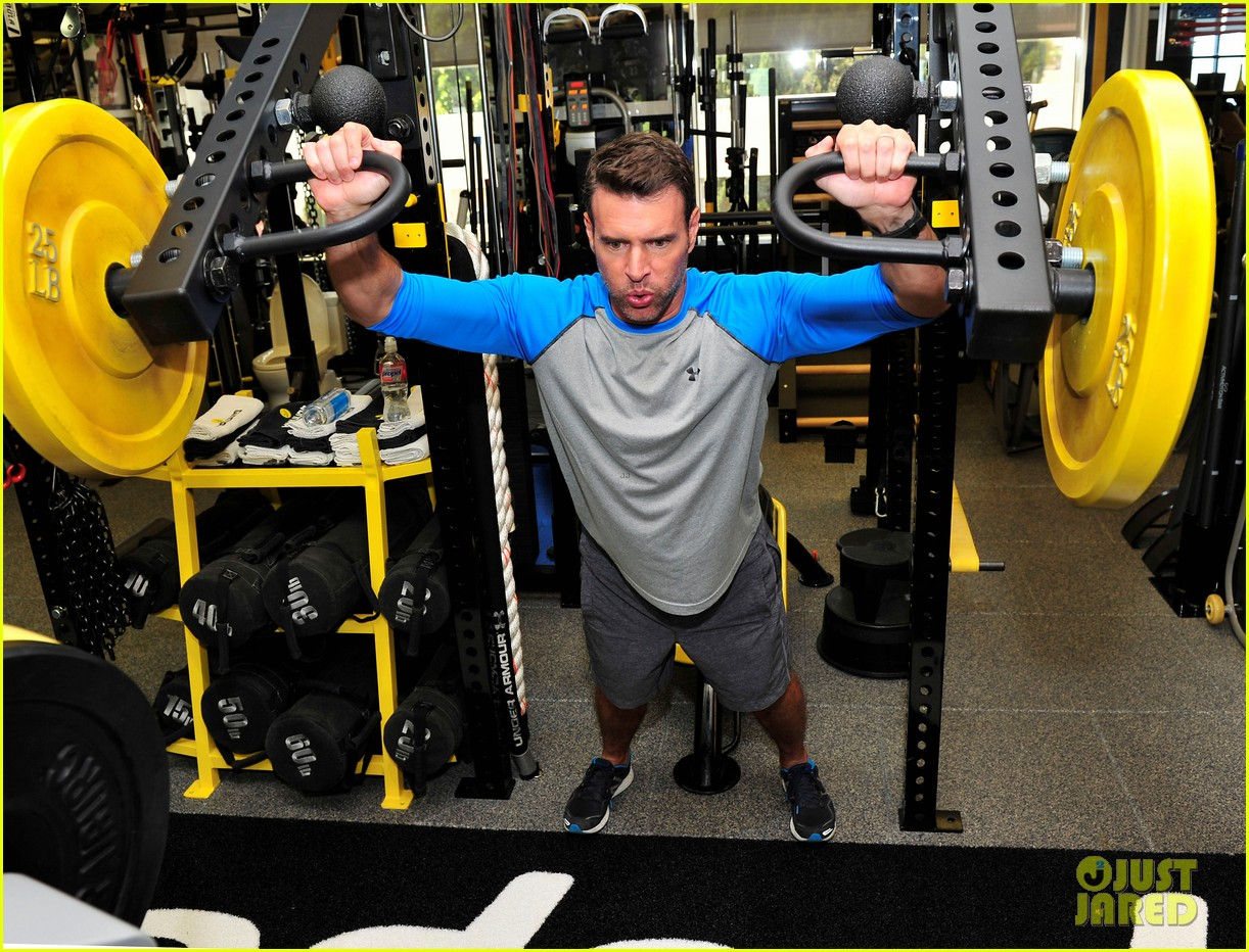 scott foley takes us into his workout with gunnar peterson 193933886