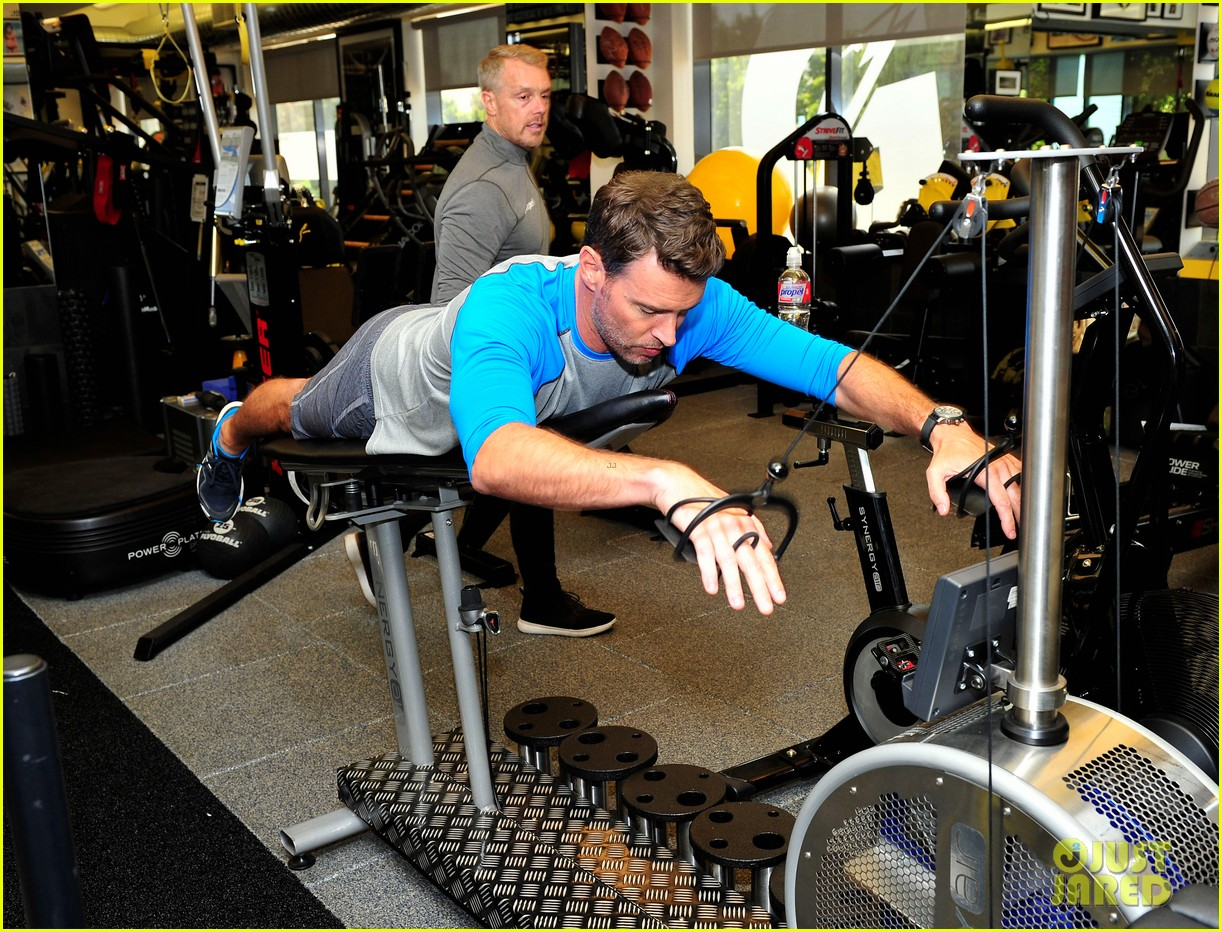 scott foley takes us into his workout with gunnar peterson 213933888