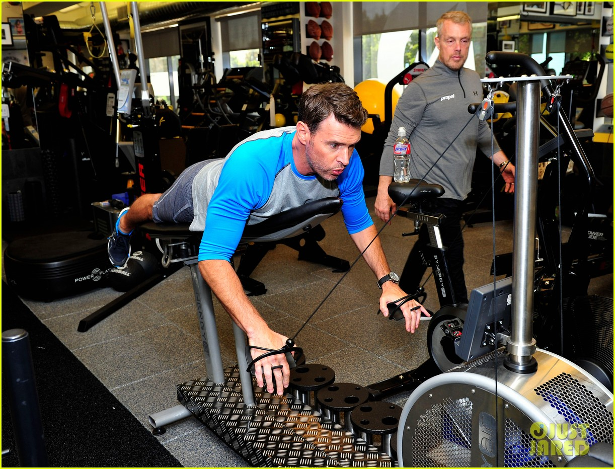 scott foley takes us into his workout with gunnar peterson 223933889