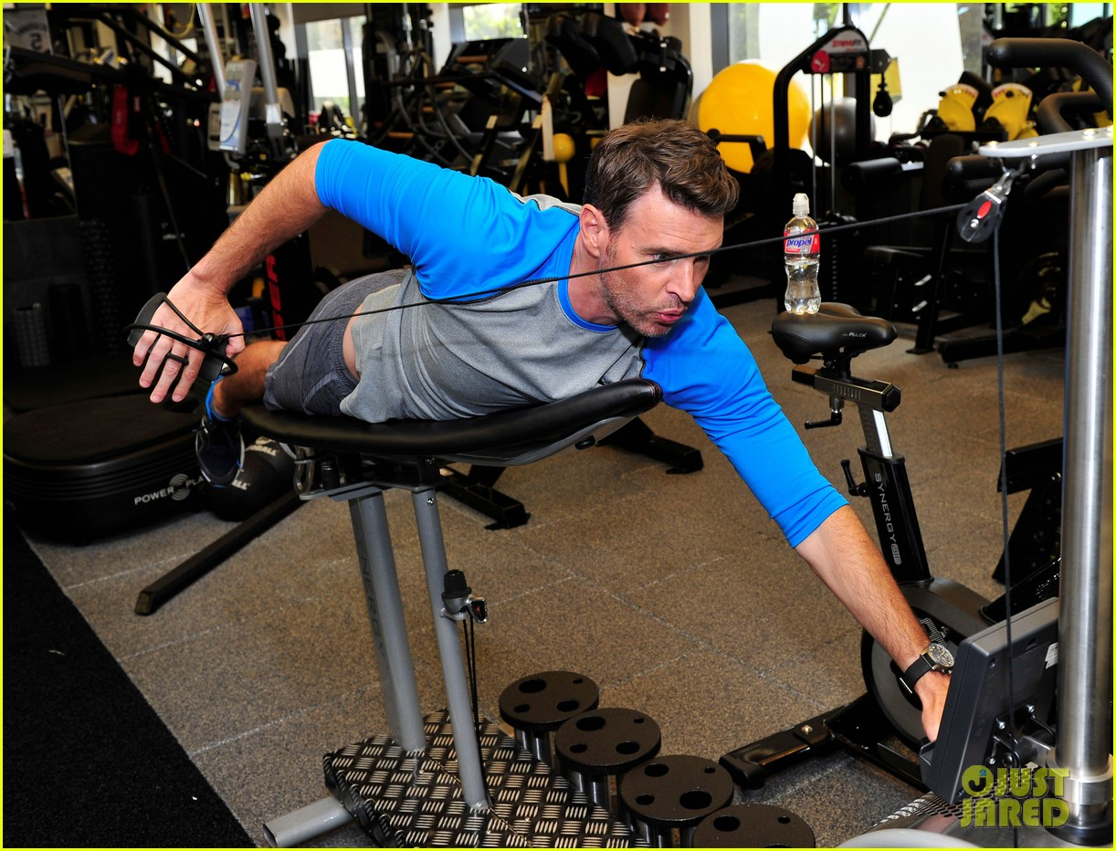 scott foley takes us into his workout with gunnar peterson 243933891