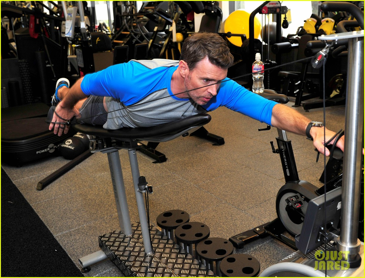 scott foley takes us into his workout with gunnar peterson 253933892