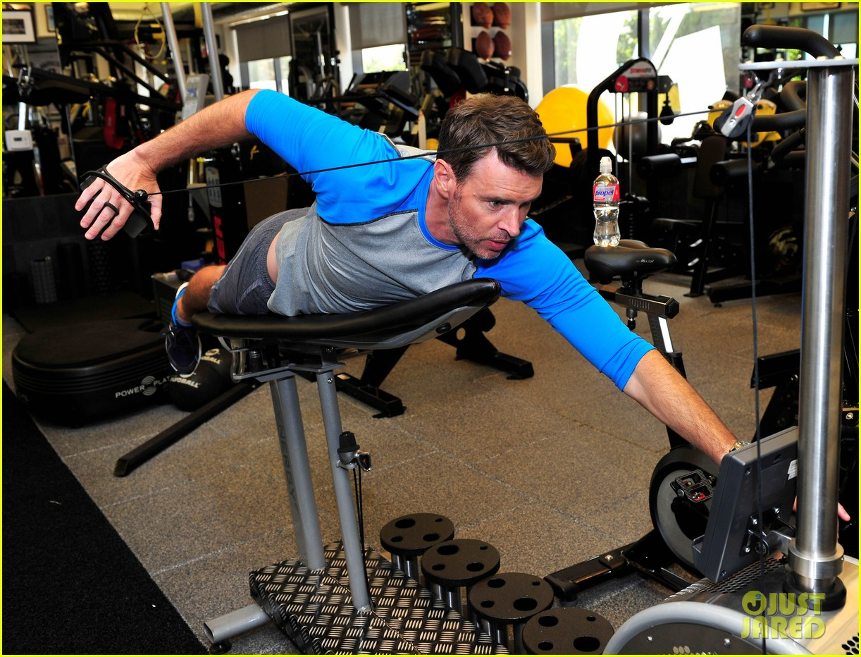 scott foley takes us into his workout with gunnar peterson 263933893