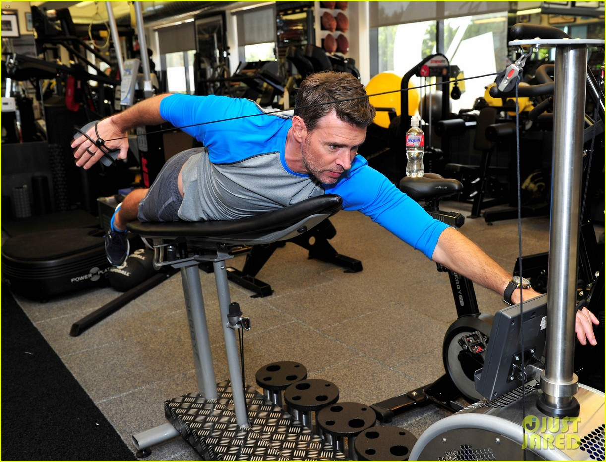 scott foley takes us into his workout with gunnar peterson 283933895
