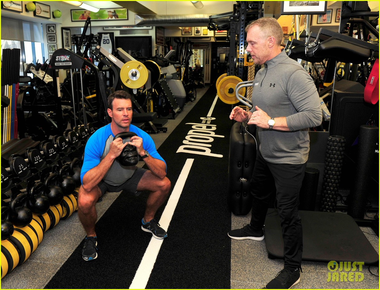 scott foley takes us into his workout with gunnar peterson 313933898