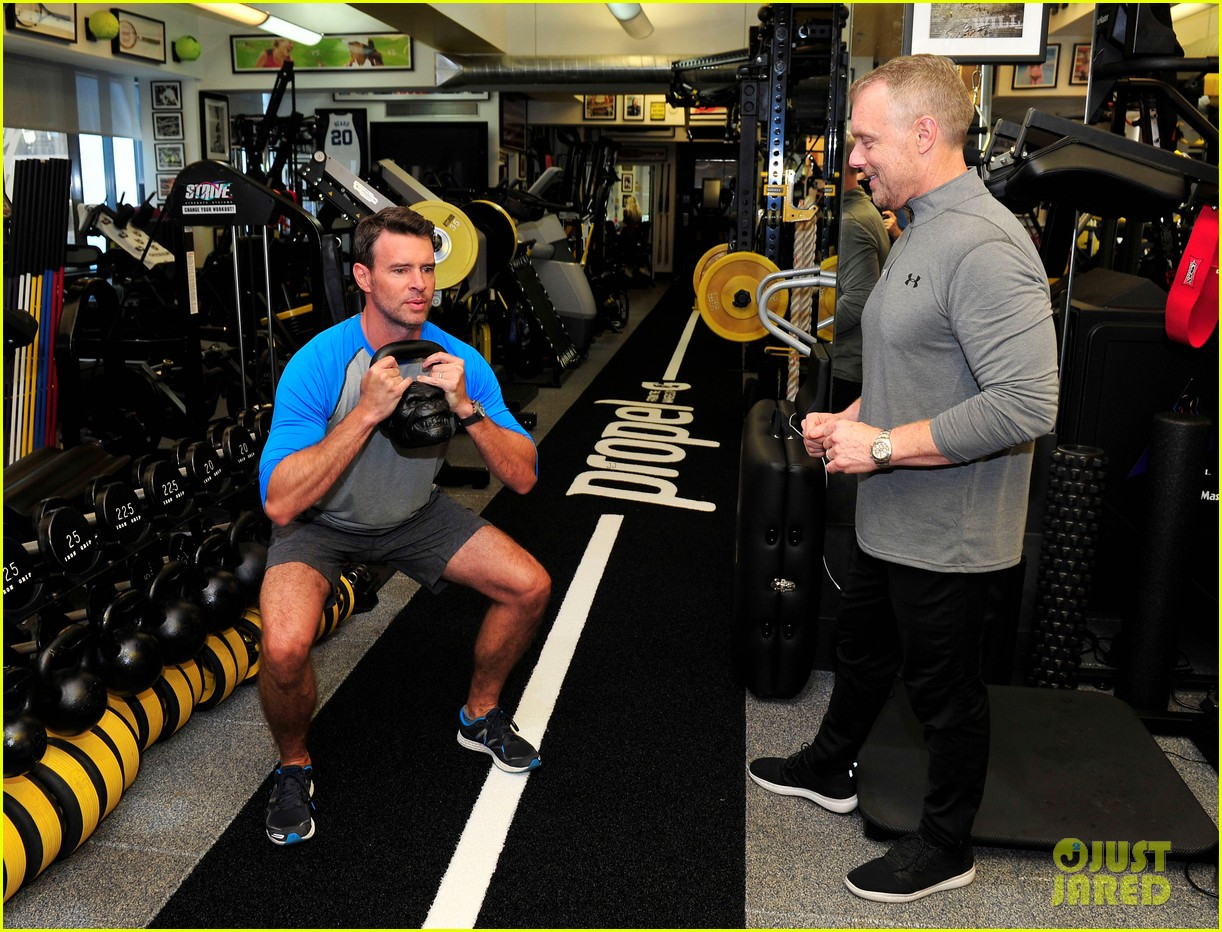 scott foley takes us into his workout with gunnar peterson 333933900