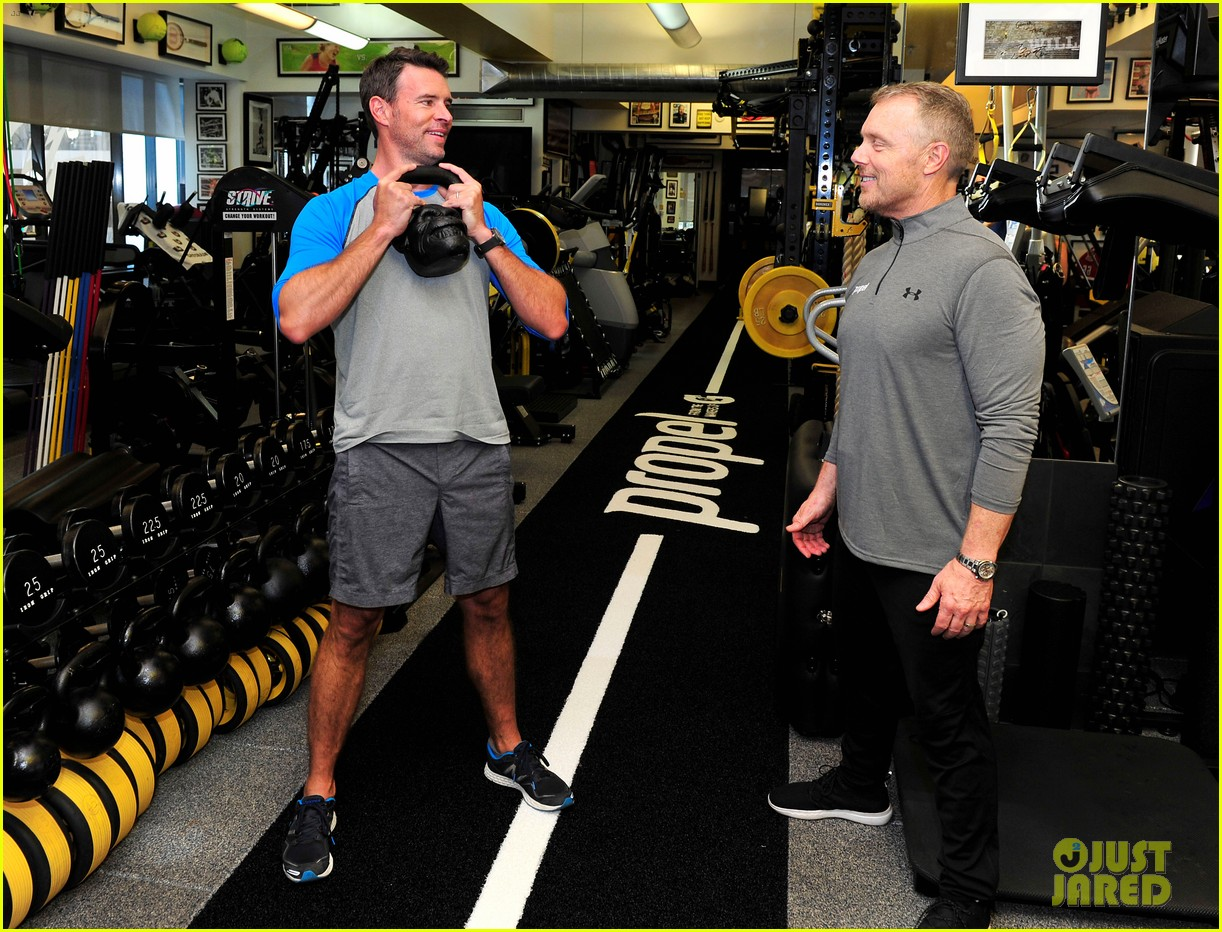 scott foley takes us into his workout with gunnar peterson 343933901