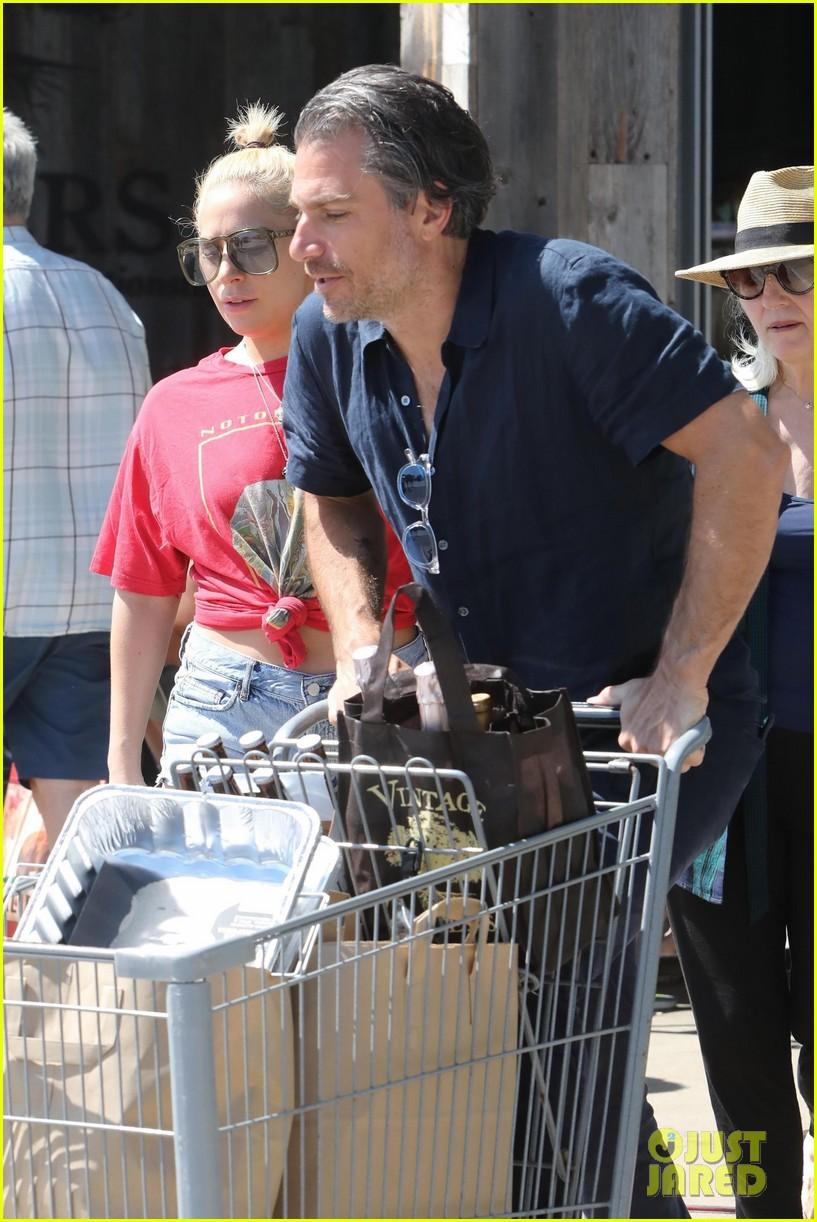 Lady Gaga & Christian Carino Stock Up for July 4!: Photo 3922697