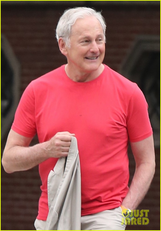 victor garber ubby rainer go for a stroll in nyc 023923556