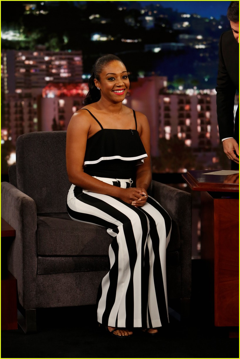 tiffany haddish told the funniest story to jimmy kimmel 043931084