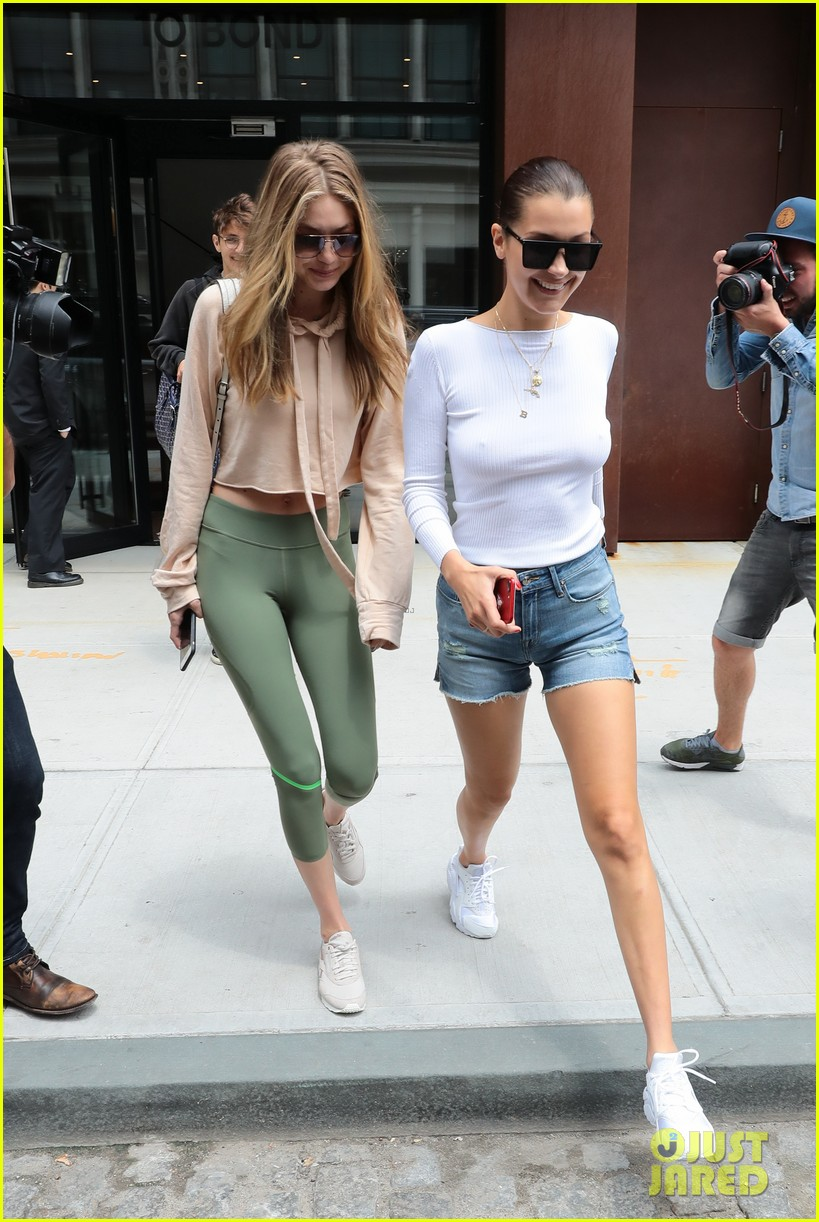 gigi bella hadid enjoy a sisters outing in nyc 033934641