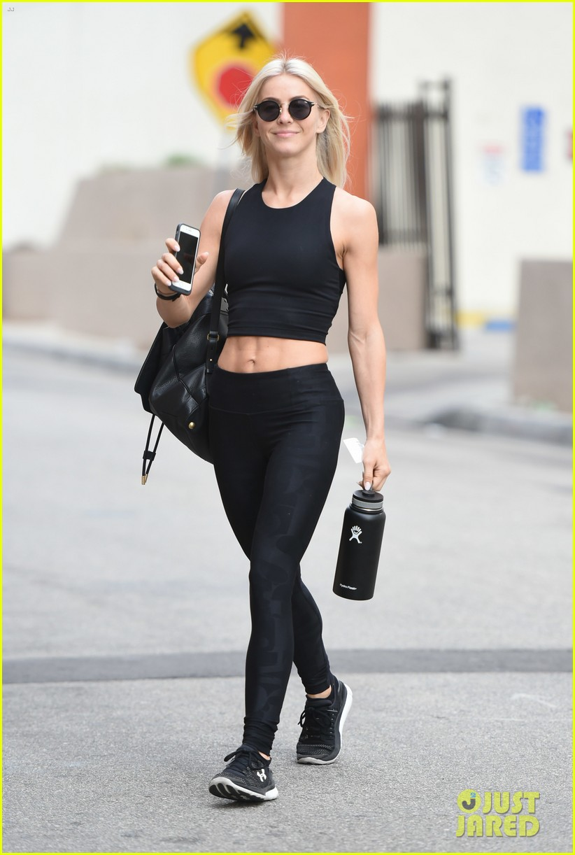 julianne hough six pack abs gym 283923244