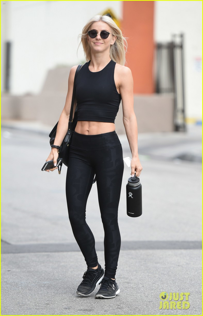 julianne hough six pack abs gym 303923246