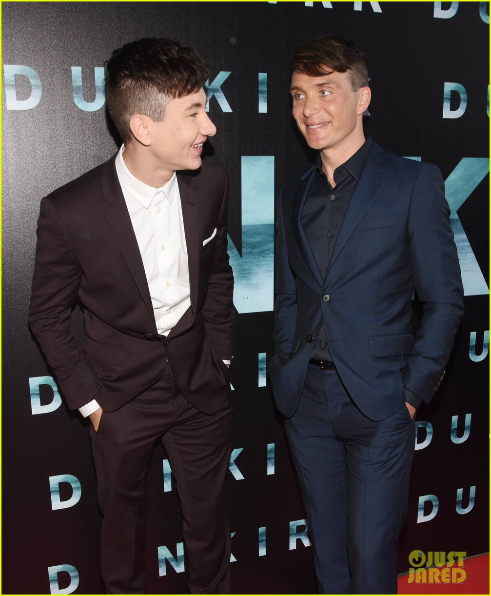 Barry Keoghan Amp Cillian Murphy Suit Up For Dunkirk Irish