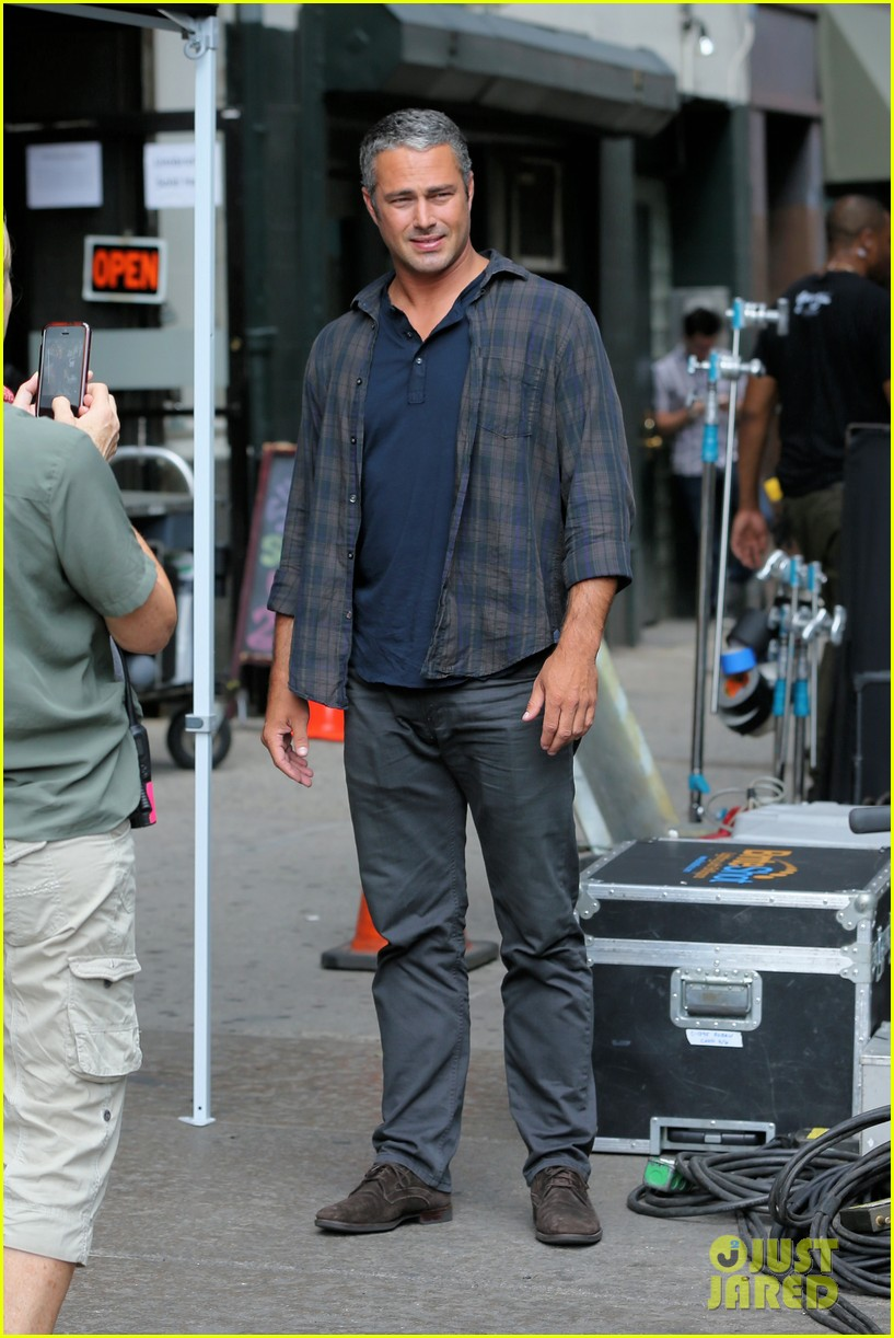 taylor kinney begins filming best day of my life in nyc 013930030