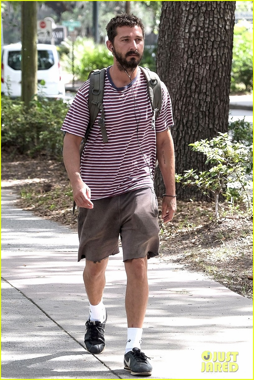 shia labeouf steps out for first time after arrest in georgia 053928720