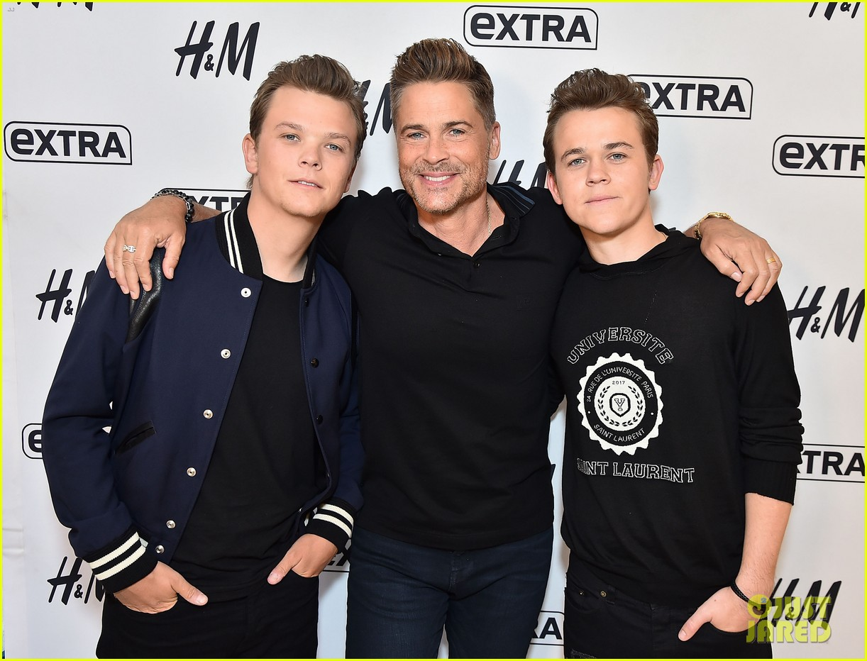 rob lowe sons have varying levels of skepticism on the lowe files 023933224