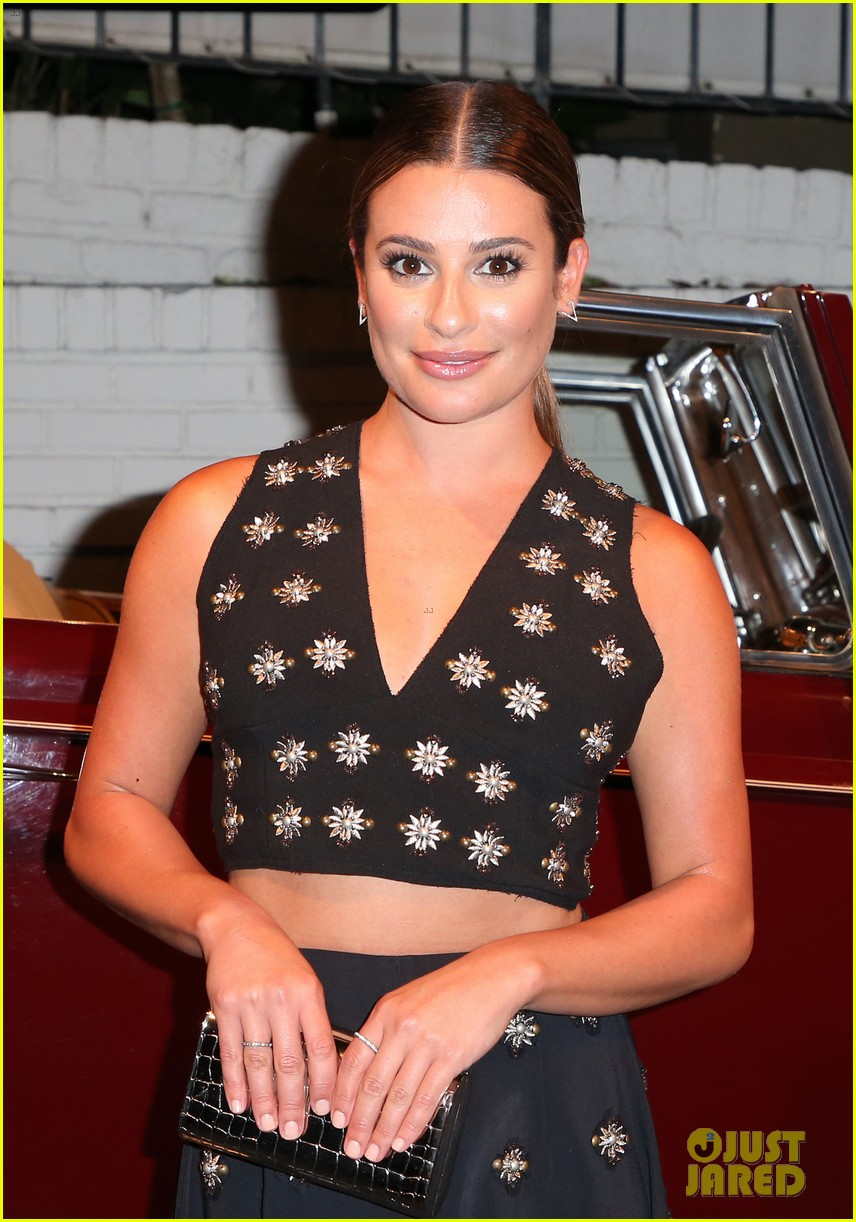 lea michele katherine mcphee buddy up at the last tycoon premiere after party 043934963