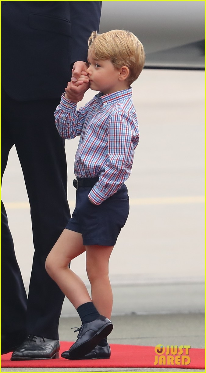 kate middleton prince william arrive in poland with george charlotte 263929265