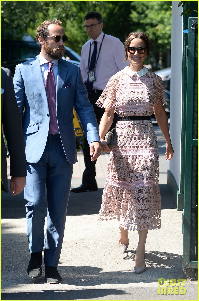 pippa middleton brother james hit the royal box for wimbledon day three 033923692
