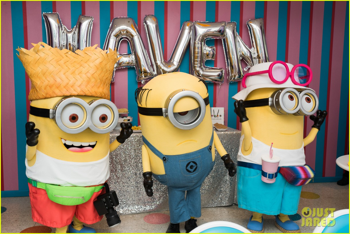 tracy morgans daughter celebrates birthday with minions 043922571