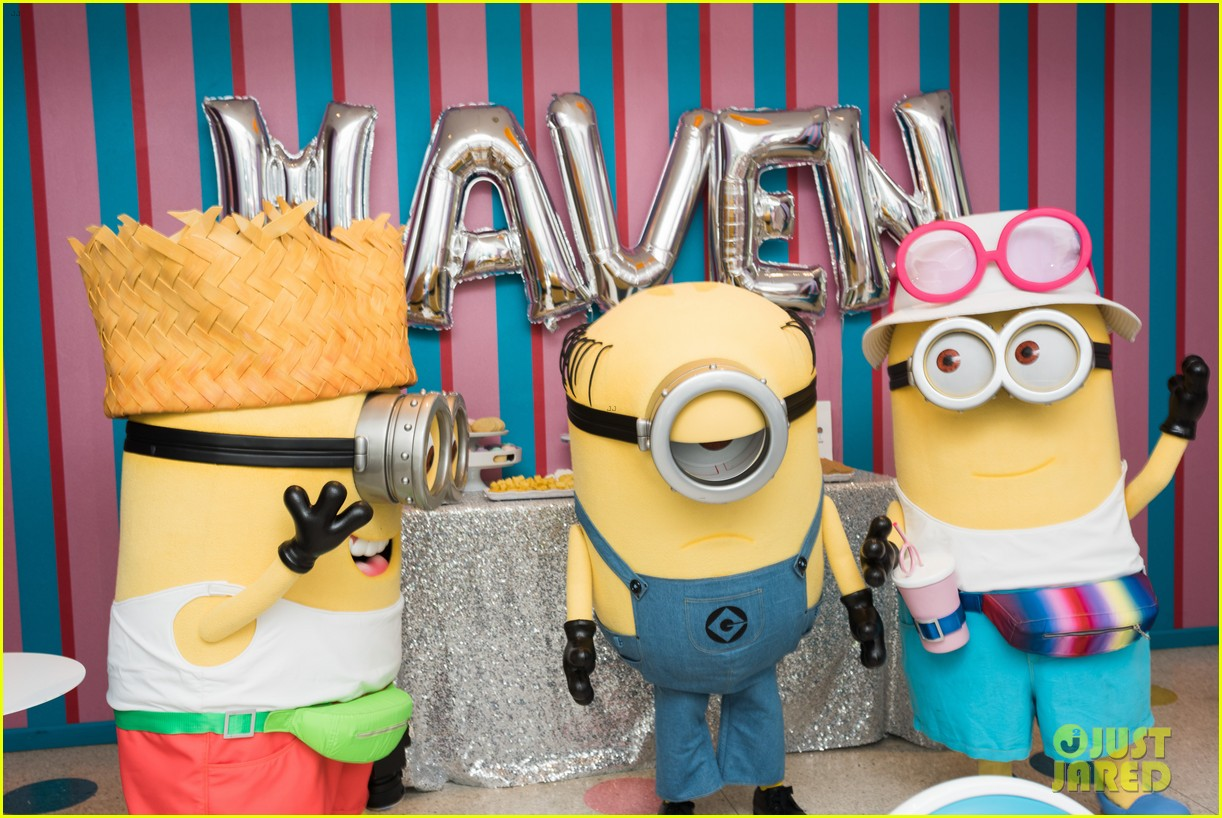tracy morgans daughter celebrates birthday with minions 053922572