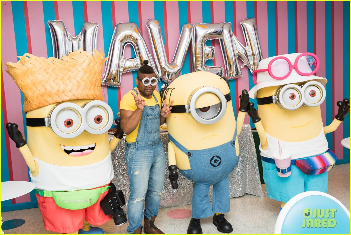 tracy morgans daughter celebrates birthday with minions 083922575